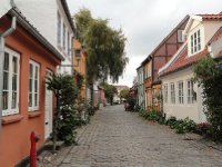 Lovely traditional houses in Møllestien (just across from our apartment building)