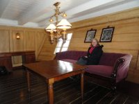 Commander's Day Room where he would receive distinguished guests at foreign ports