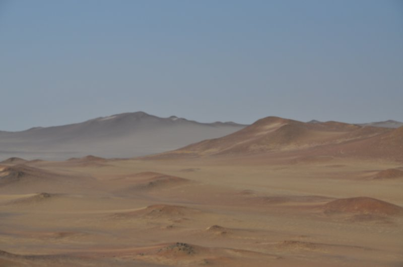 Flott ørkenlandskap