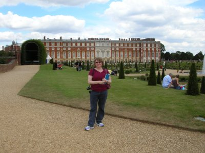 Lis at Hampton Court