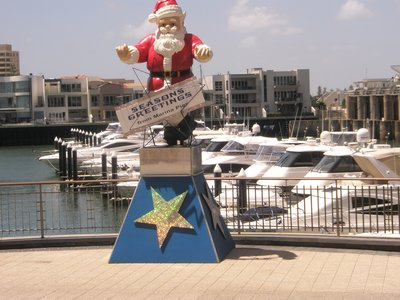 Santa at Glenelg