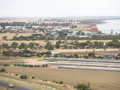 Ardossan Grain storage area