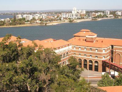 View Over the old Brewery from Kings Park