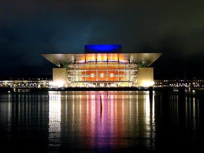 Opera House (Operaen) by night
