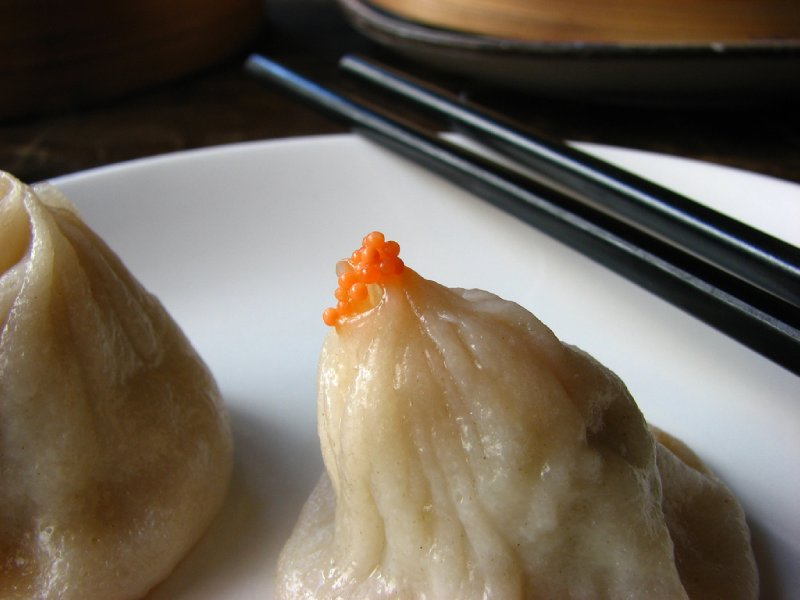 Crab xiao long bao