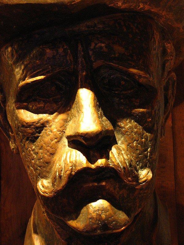Bust of Fridtjof Nansen