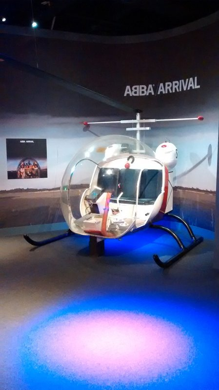 Helicopter from the Arrival album cover