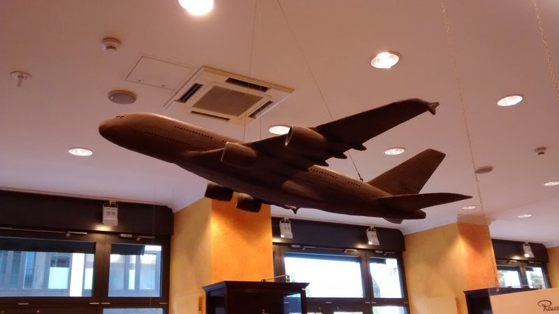 Chocolate aeroplane