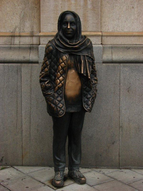 Bronze of Margaretha Krook