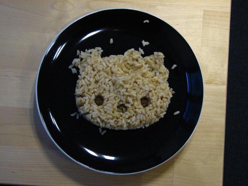 Hello Kitty rice