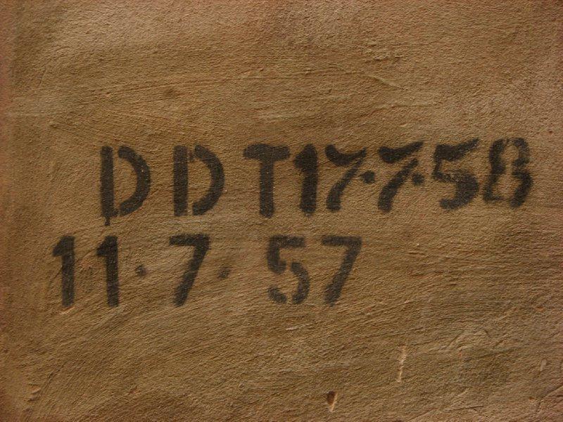 DDT marking