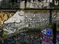 Riverside street art