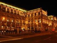 Vienna State Opera House by night