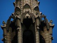 Fleche/Crossing tower (?) detail