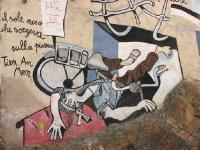 Tiananmen Square mural