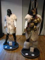 Merdule (Elder of the Flock) and Boe (Cow) costumes from Ottana