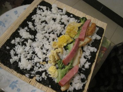 """Our """"Western"""" Sushi"""