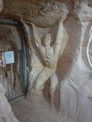 Chamber of the Black Hand art, Lightning Ridge