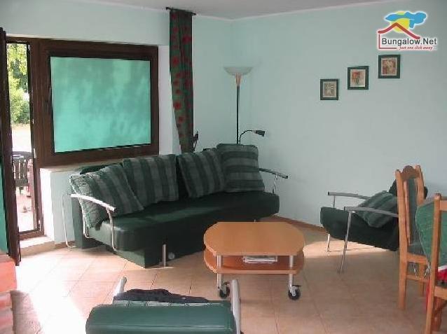 Szteklin, woonkamer van de vakantiewoning