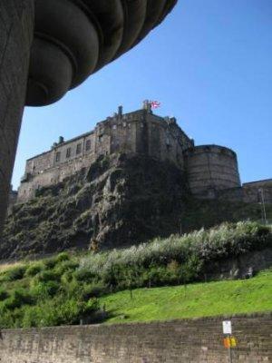 castle from below
