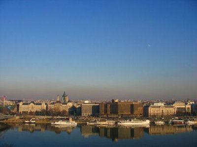 reflection on the danube 2