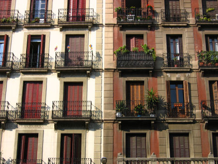shutters and balconies