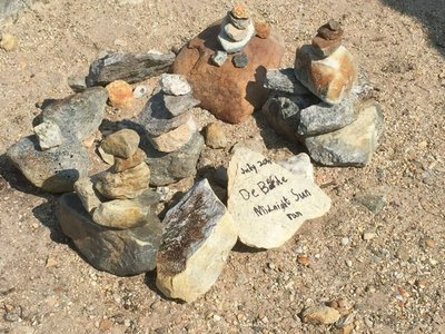Our family cairn
