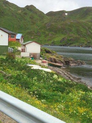 Scene from fishing village