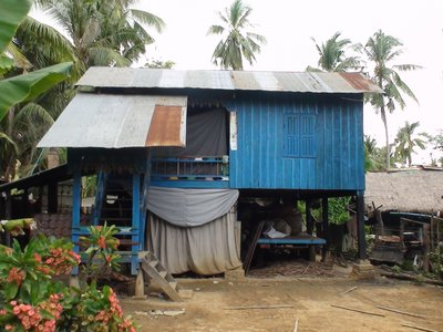 village near Battambang