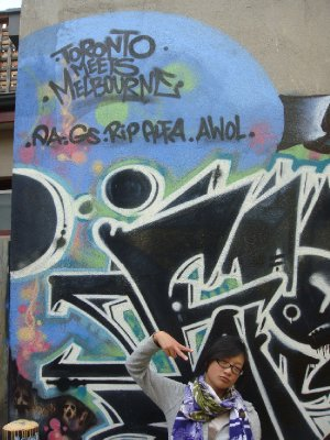T.O meet Melbourne, keep it fresh, yo