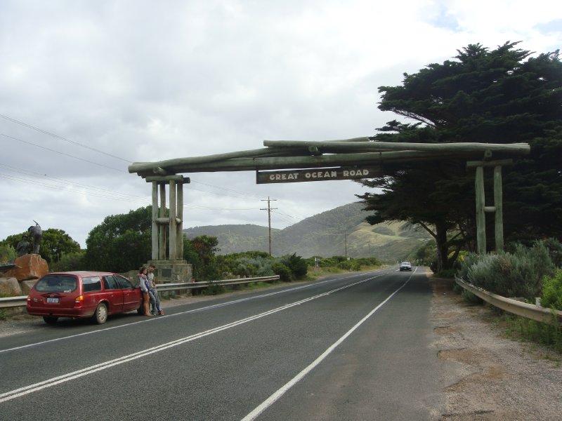 Great Ocean Road start