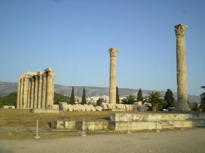 Athenes - Temple Zeus