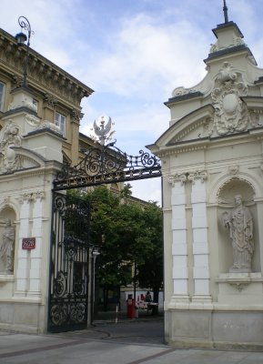Varsovie - universite