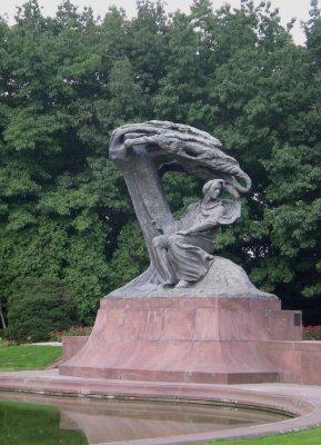 Varsovie Monument Chopin