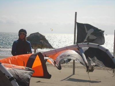 Mamina doing Kite