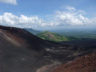 Looking Over the Cerro Negro
