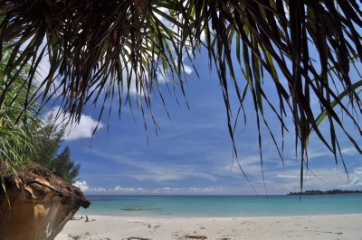 Beach at the Tip of Borneo