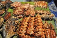 Seafood Barbecue at KK's Night Market