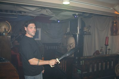 Aaron's pirate basement
