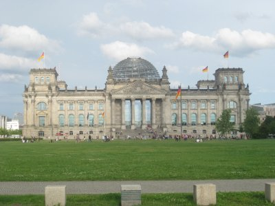 Past the Reichstag