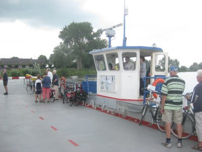 Third ferry of the trip to cross 20 metres