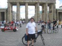 Arrived at the Brandenburg Gate