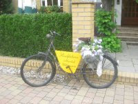Cyclists welcome at the hotel near Beelitz