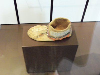 Moccasin given to Comte de Noailles 1780