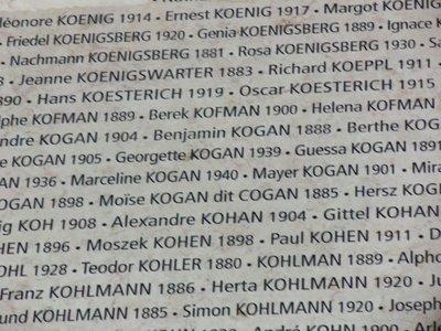 Berek Kofman, killed 1942, Auschwitz