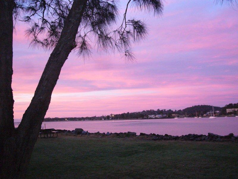 Sunrise at Batemans Bay, NSW South Coast, Australia