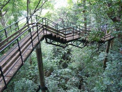 Spectacular walkway