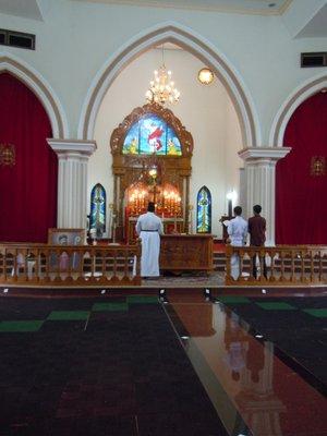 Alter at church