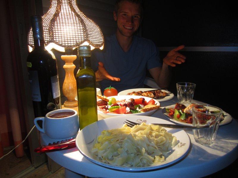 Homemade Dinner in Tolo