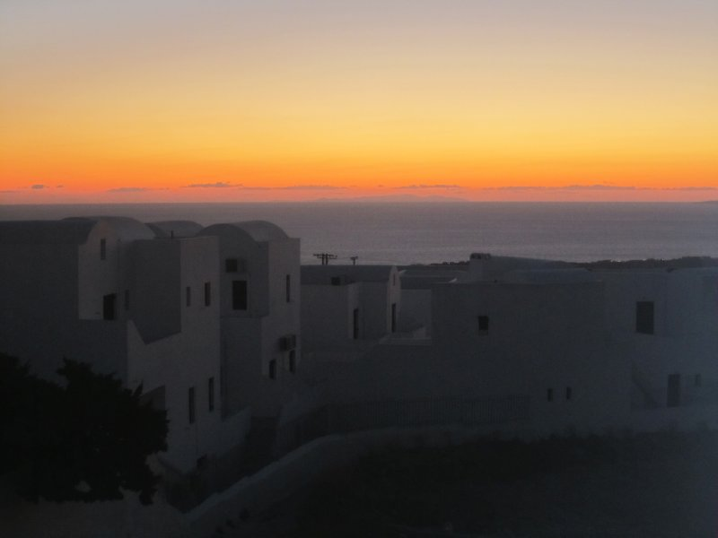 View from our Balcony at Dawn